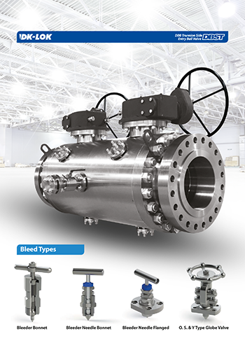 catalog page of dbst dbb trunnion side entry ball valve