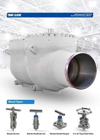 catalog page of trunnion top entry ball valve dbtt dbb