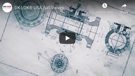 Video of USA Ball Valves from DK-LOK