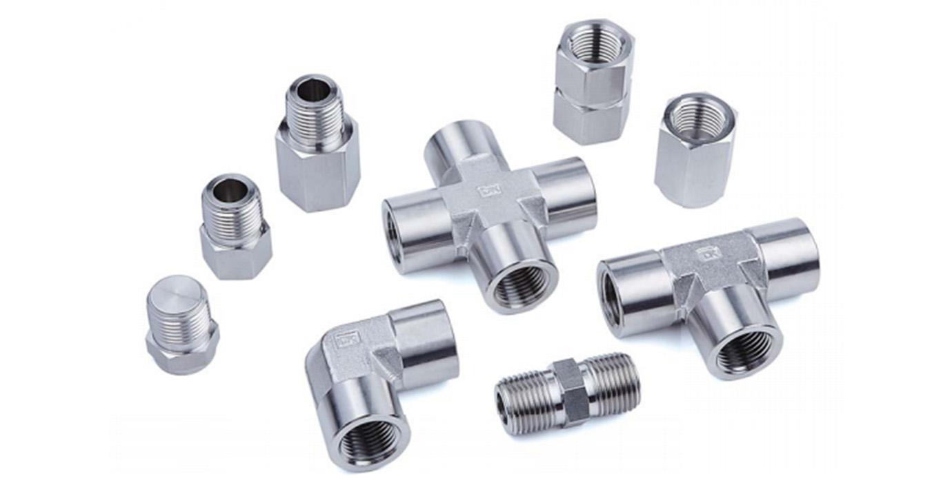Photo of pipe fittings