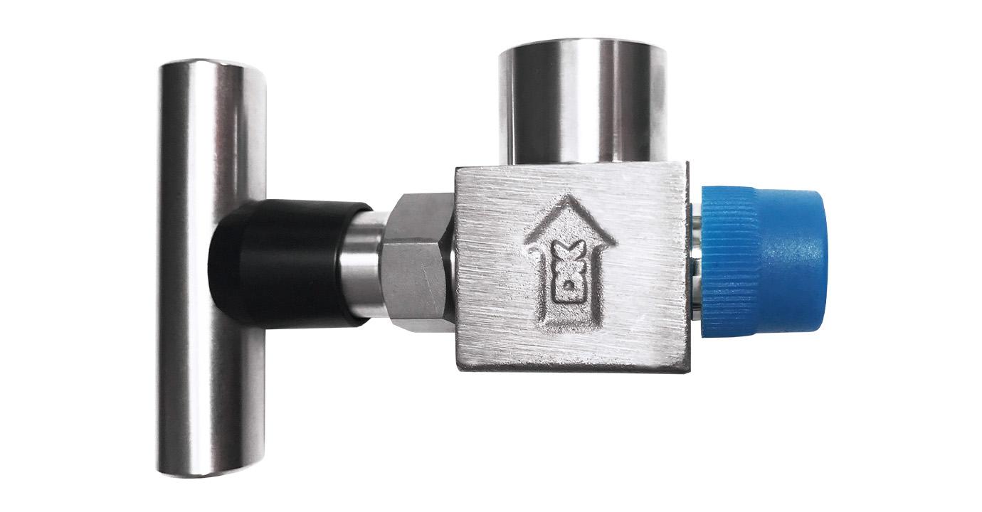 Photo of vex110 needle valve