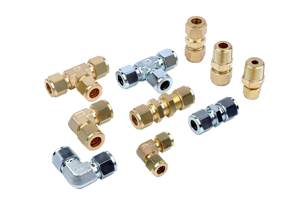 photo of assorted tube fittings