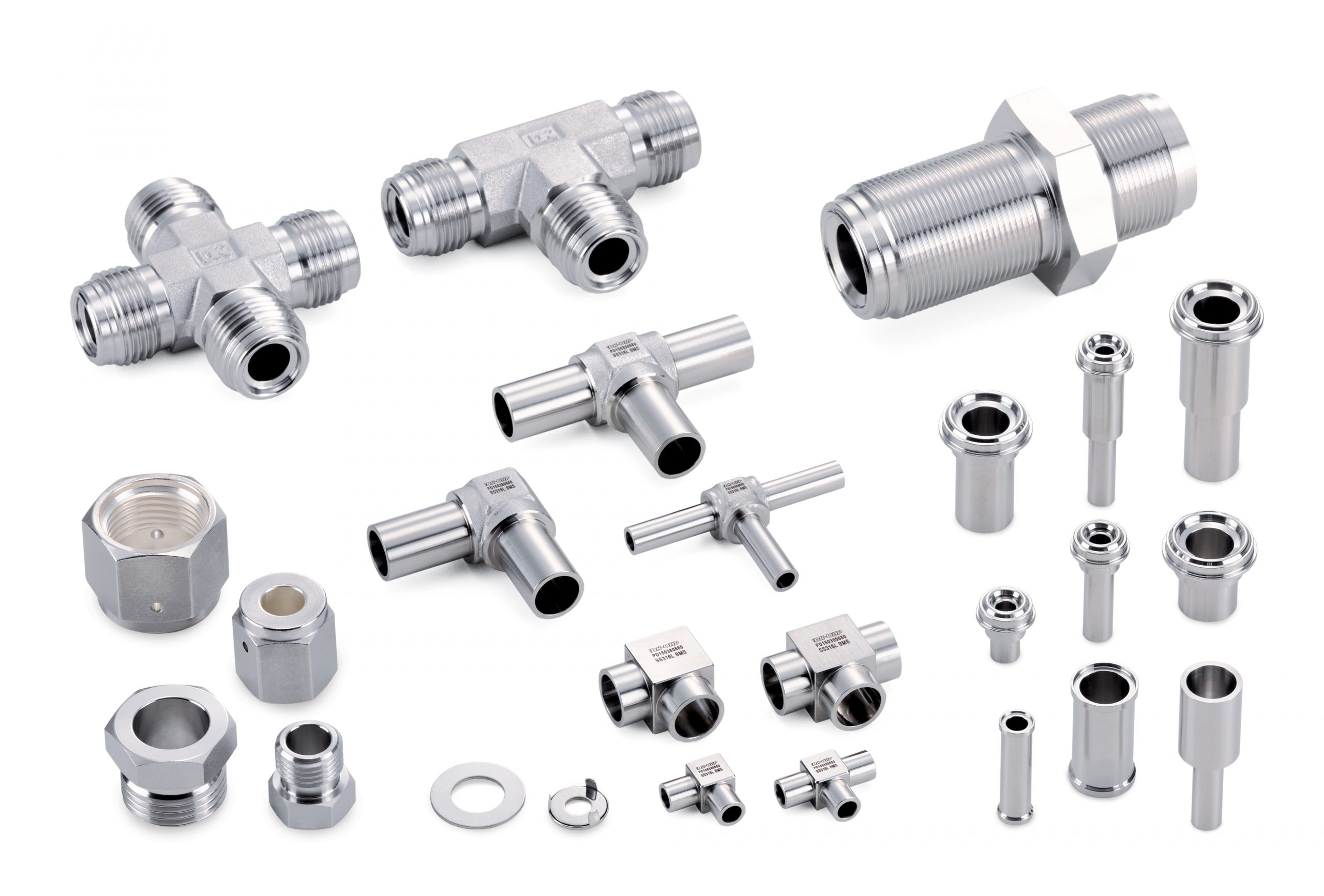 Oxygen Clean Fittings and Valves