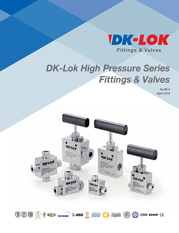 catalog of high pressure series fittings and valves