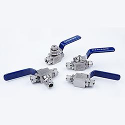 photo of v86 series ball valves