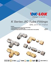 catalog cover for k series jic tube fittings