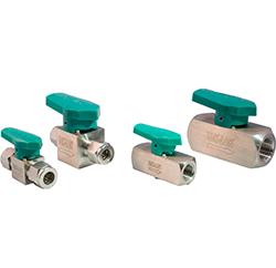 photo of quarter turn plug valves